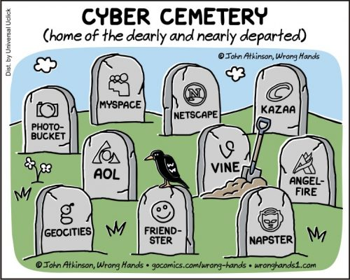 cyber cemetery