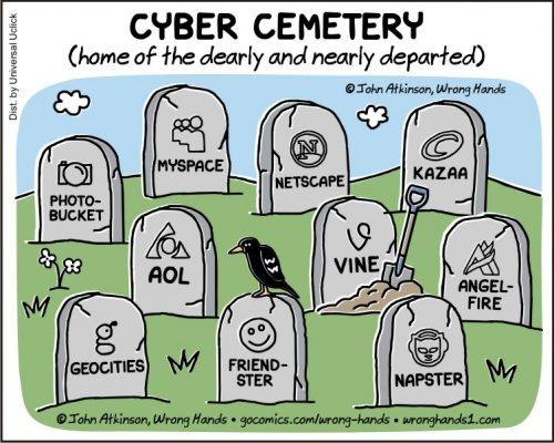 cyber cemetery