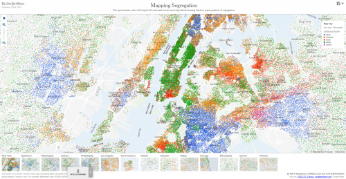 Captura de pantalla de Mapping Segregation