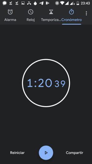 Tiempo de arranque de Lee con disco HDD