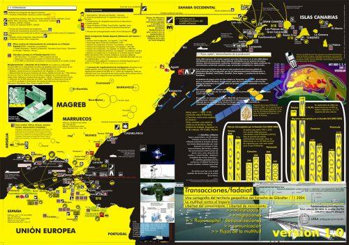 Cartografía crítica del Estrecho de Gibraltar. Hackitectura