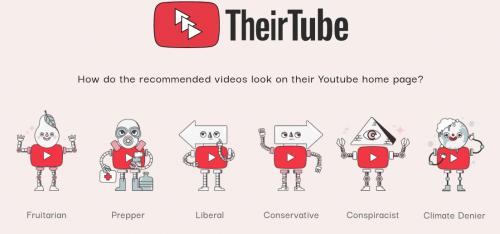 Captura de pantalla de their.tube