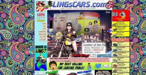 Captura de pantalla de lingscars.com