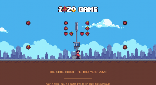 Captura de pantalla de 2020game.io