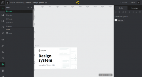 Captura de pantalla de design.penpot.app